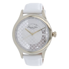Kenneth Cole Silver Dial Analog Watch for Women