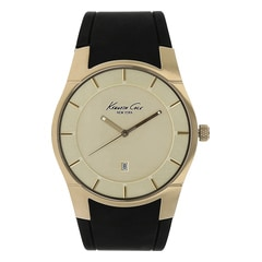 Kenneth Cole Gold Dial Analog Watch for Men