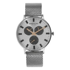Kenneth Cole Silver Dial Chronograph Watch for Men