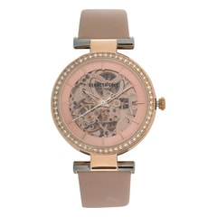 Kenneth Cole Rose Gold Dial Automatic Watch for Women