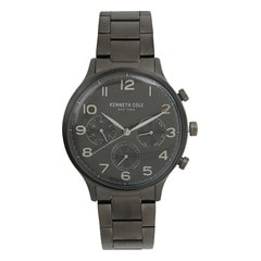 Kenneth Cole Grey Dial Chronograph Watch for Men