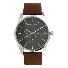 Kenneth Cole Black Dial Chronograph Watch for Men