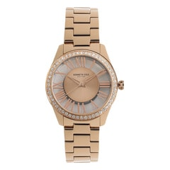 Kenneth Cole Rose Gold Dial Analog Watch for Women
