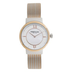 Kenneth Cole Mother Of Pearl Dial Analog Watch for Women