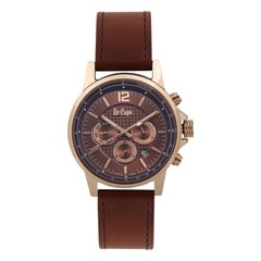 Lee Cooper Rose Gold Dial Chronograph Watch for Men