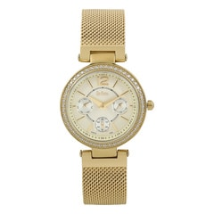 Lee Cooper Gold Dial Analog Watch for Women