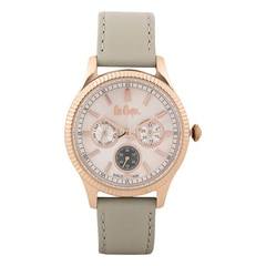 Lee Cooper Peach Dial Analog Watch for Women