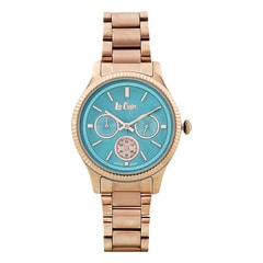 Lee Cooper Blue Dial Analog Watch for Women