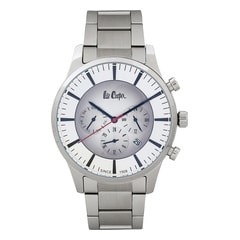 Lee Cooper Silver Dial Analog Watch for Men
