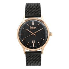 Lee Cooper Black Dial Analog Watch for Men