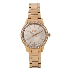 Lee Cooper Rose Gold Dial Analog Watch for Women