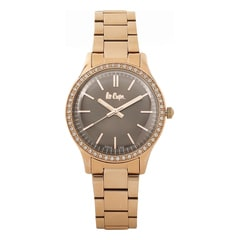 Lee Cooper Brown Dial Analog Watch for Women