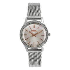 Lee Cooper Silver Dial Analog Watch for Women