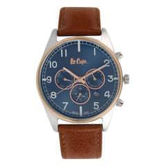 Coach Blue Dial Chronograph Watch for Men