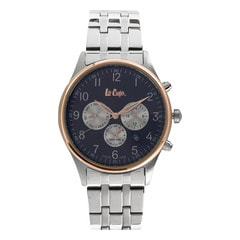 Lee Cooper Brown Dial Chronograph Watch for Men