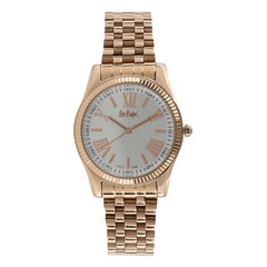 Coach Silver Dial Analog Watch for Women