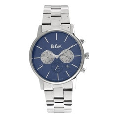 Lee Cooper Blue Dial Chronograph Watch for Men