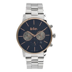 Lee Cooper Black Dial Multifunction Watch for Men