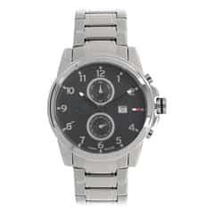 Tommy Hilfiger Black Dial Chronograph Watch for Men-NATH1710296J