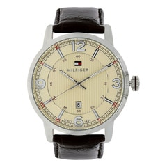 Tommy Hilfiger Cream Dial Analog Watch for Men