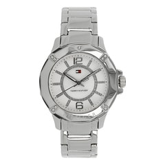 Tommy Hilfiger White Dial Analog Watch for Women-NATH1780911J