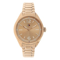 Tommy Hilfiger Rose Gold Dial Analog For Women