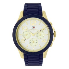 Tommy Hilfiger Gold/Silver Dial Chronograph Watch for Women