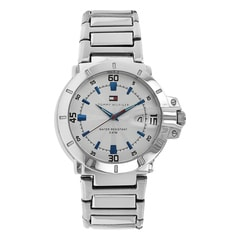 Tommy Hilfiger White Dial Analog Watch for Men-NATH1790468J