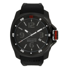 Tommy Hilfiger Black Dial Analog Watch for Men-NATH1790708J