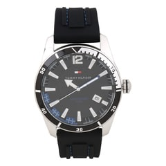 Tommy Hilfiger Black Dial Analog Watch for Men-NATH1790779J