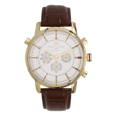 Tommy Hilfiger Silver Dial Chronograph Watch for Men-NATH1790874J