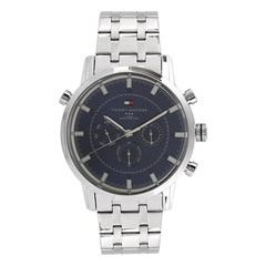 Tommy Hilfiger Grey Dial Chronograph Watch for Men
