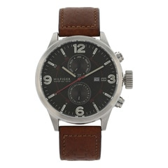Tommy Hilfiger Brown Dial Chronograph Watch for Men-NATH1790892J