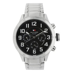 Tommy Hilfiger Black Dial Chronograph Watch for Men-NATH1791054J