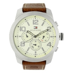 Tommy Hilfiger Silver Men Watch NATH1791107J