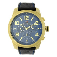 Tommy Hilfiger Blue Dial Chronograph Watch for Men-NATH1791108J