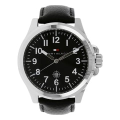 Tommy Hilfiger Black Dial Analog Watch for Men-NTH1710301J