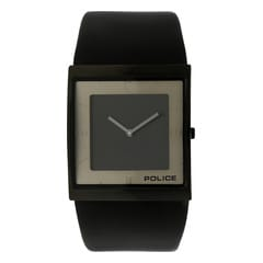 Police Rectangle Dial Analog Watch for Men-PL13678MSB02J