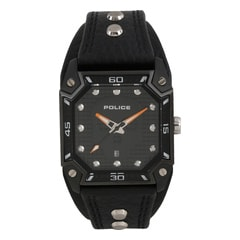 Police Black Dial Analog Watch For Men-PL13888JSB02J