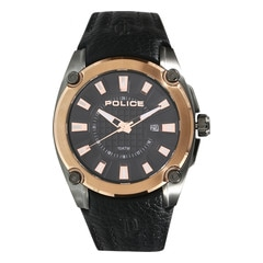 Police Black Dial Analog Watch for Men