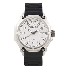 Police White Dial Analog Watch for Men-PL13939JS04AJ