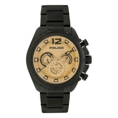 Police Beige Dial Chronograph Watch for Men