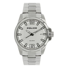 Police Silver Dial Watch For Men-PL14014JS04MAJ