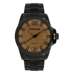 Police Beige Dial Analog Watch for Men-PL14014JSB04MJ