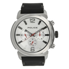 Police Silver Dial Watch For Men-PL14377JS04BJ
