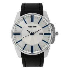 Police Silver Dial Watch For Men-PL14384JS04J