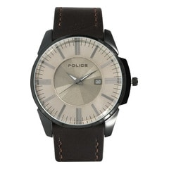 Police Silver Dial Analog Watch for Men