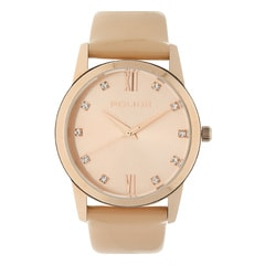 Police Beige Dial Analog Watch for Women