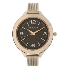 Police Brown Dial Watch For Women-PL14498JSR12MJ