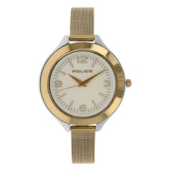 Police Silver Dial Watch For Women-PL14498JSTG04MJ